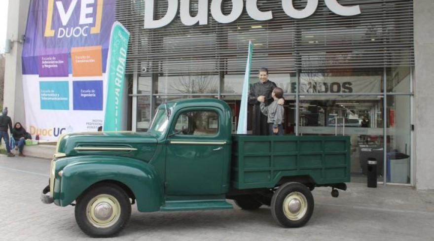 camioneta verde