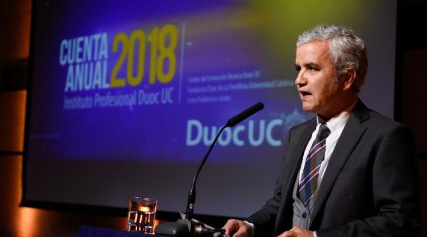 Rector de Duoc UC, Ricardo Paredes